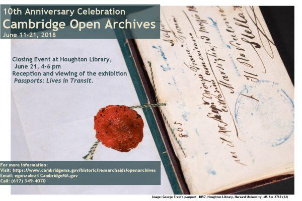 Cambridge open archives