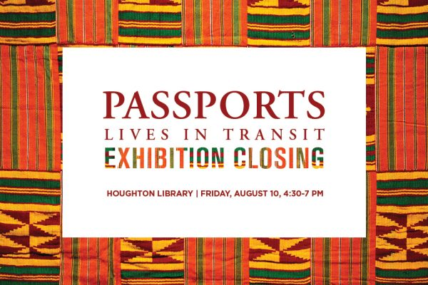 Passports exhibition closing event