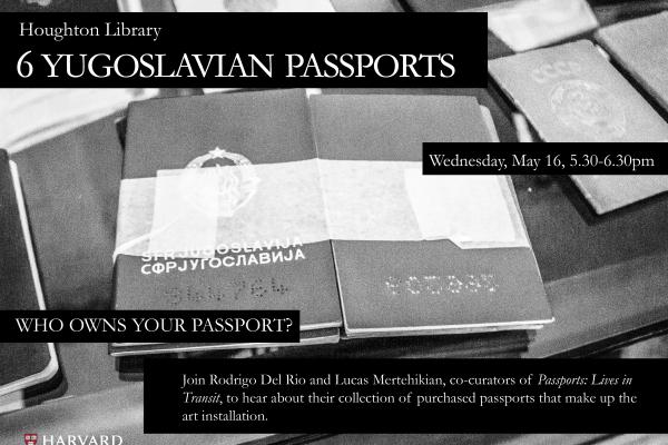 Six Yugoslavian Passports